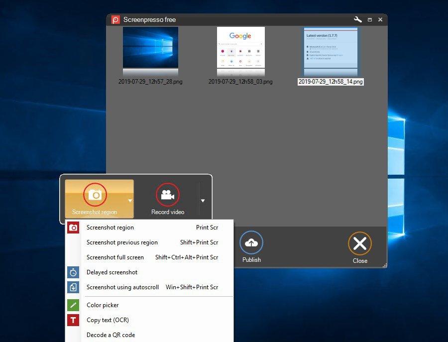 Screenpresso 1.8.0.0 - Download for PC Free