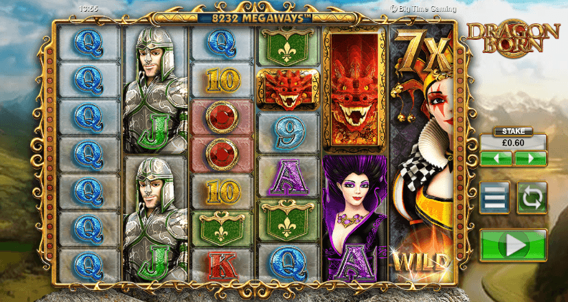 Play Dragon Born Slot > 10 Free Spins No Deposit