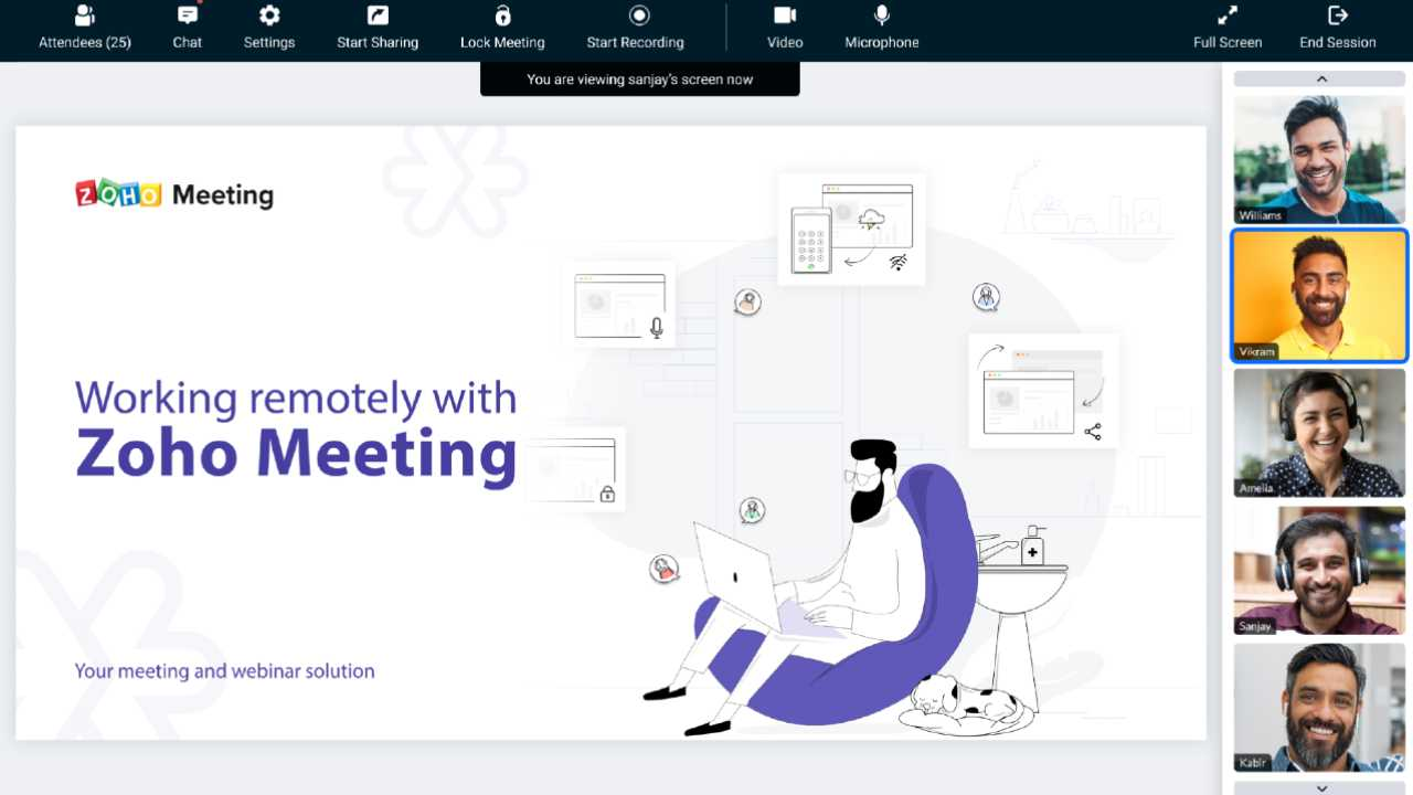 Zoho Meeting is one of the best alternatives to Zoho or apps like Zoho