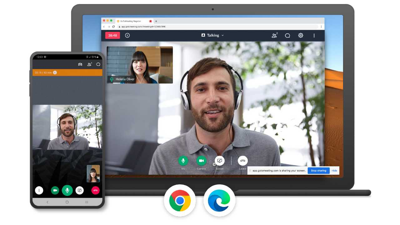 Gotomeeting is a fantastic Video conferencing tool for officials and students