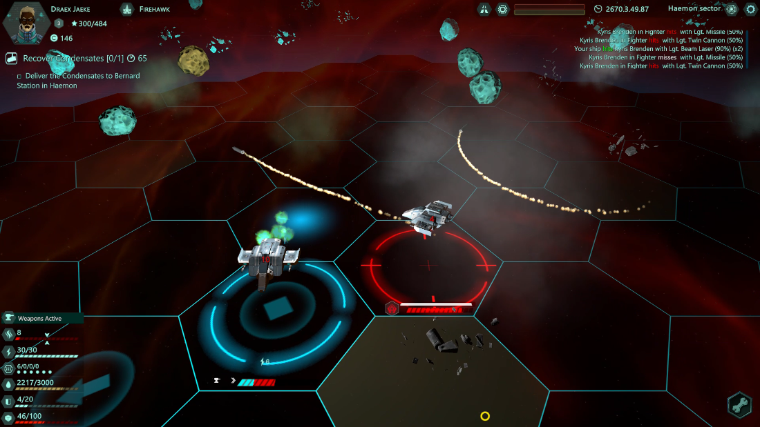 Relic Space - Low Angle Combat