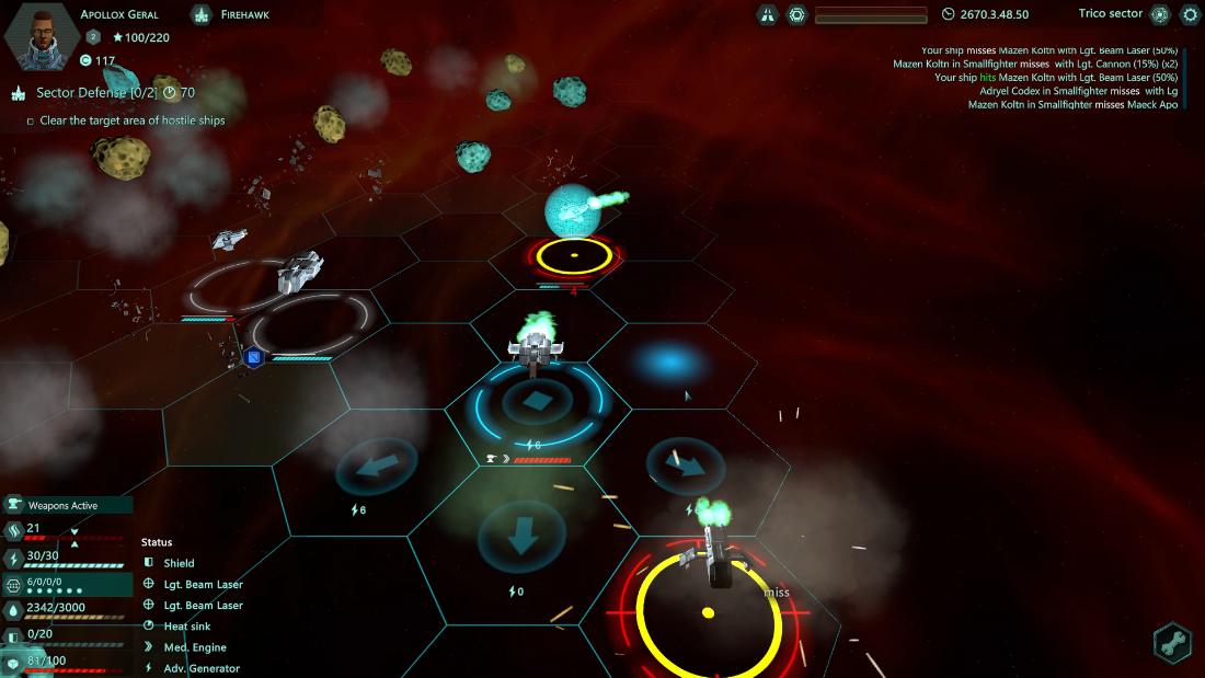 Relic Space - Top-Down Combat